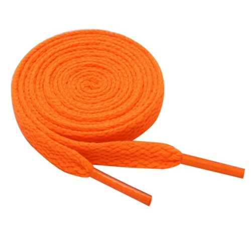 1 Paar Schuhbändel Bunt Bunt Flache Runde Schnürsenkel Turnschuh Strings HOT