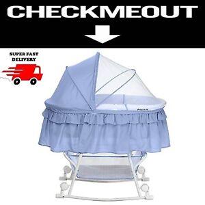 Details About Oval Baby Binet Nursery Furniture Portable Infant Badger Basket Newborn Bed
