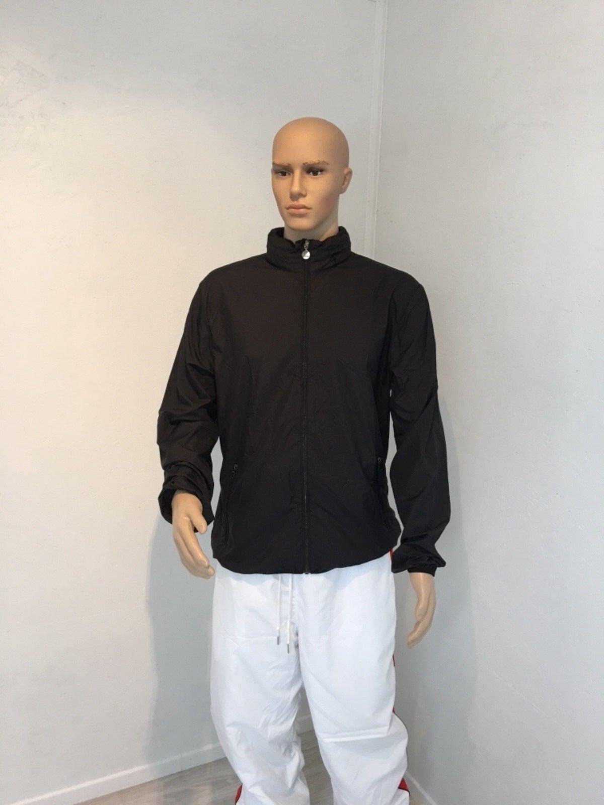veste Emporio Armani EA7 coupe noir vent couleur noir coupe taille XXL 685ed1