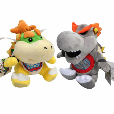 2X Baby Bowser Jr. Dry Bones Koopa Super Mario Bros Plush ...