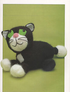 vintage jess the cat toy / pj case knitting pattern 99p eBay