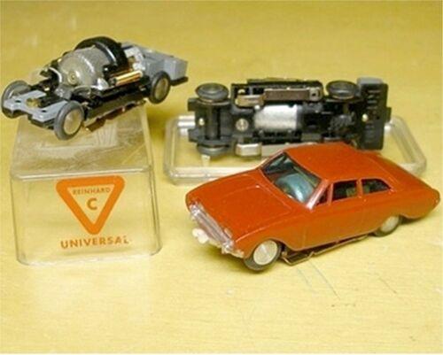 1960s Rasant W German Red Ford Taunus HO Slot Car MIB
