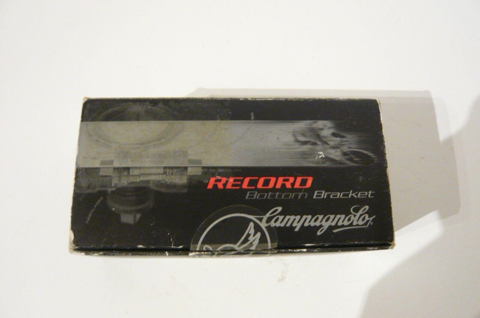 Campagnolo BB02-RE11IT Record triple 111mm Soporte Inferior italiano asimétrico