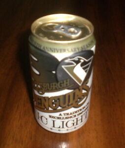 NEW Iron City Light 50 Years Penguins Pint Glass