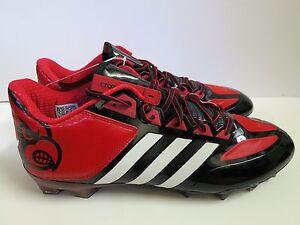 f82d076e360d Image is loading Adidas-AS-SMU-CrazyQuick-Custom-Louisville-Cardinals- Football-