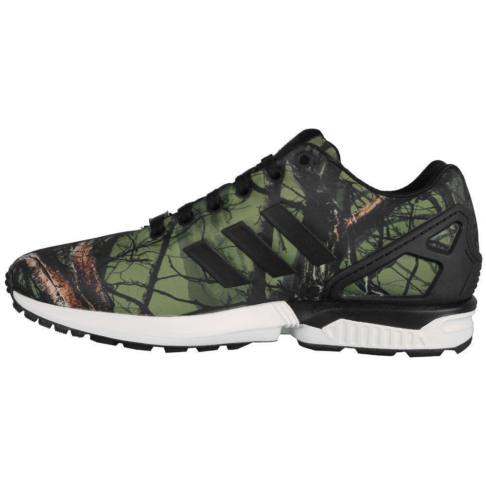 Adidas Deep ZX Flux #B34139 Green Deep Adidas Forest Mens SZ 7.5 - 13 57a58a