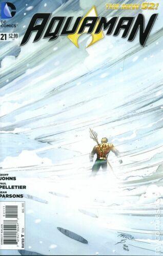 Aquaman #21A Pelletier Variant VF 2013 Stock Image