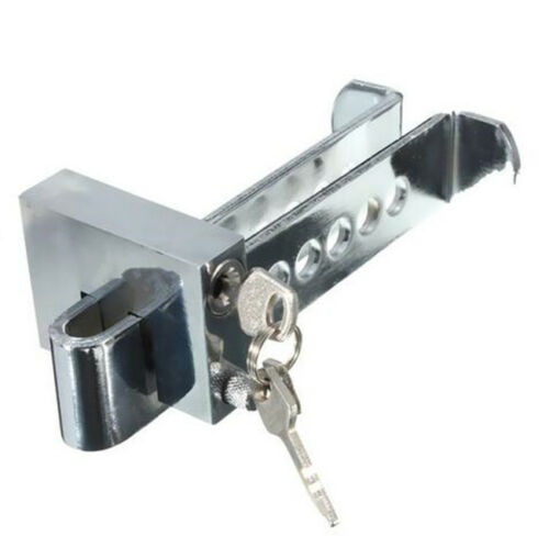 Car AUTO Stainles Steel Anti-theft Device Clutch Pedal Lock Brake Security Tool