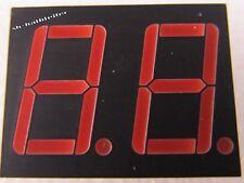 10 Stück - LTD6710R - LITEON - 2 Digit 14,2mm LED 7-Segment Anzeige ROT