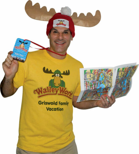 Morris Costumes Men/'s Griswold Vacation Wally World Park Costume Kit XL GC4696