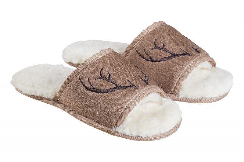 Fellhof Marcello calde Agnello Pantofole Ciabatte 37 - 45 Slipper sandalo