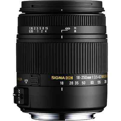 Sigma 18-250mm F3.5-6.3 DC Macro OS HSM: Canon Fit CA2715