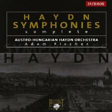 ADAM/AUSTRO-HUNGARIAN HAYDN ORCHESTRA FISCHER - SYMPHONIES (COMPLETE) 33 CD NEU