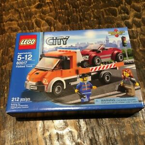 LEGO 60017 City Flatbed Tilt Truck Set