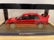 118 Autoart 77181 Mitsubishi Lancer Evolution Viii 8 Street Car Rare Diecast