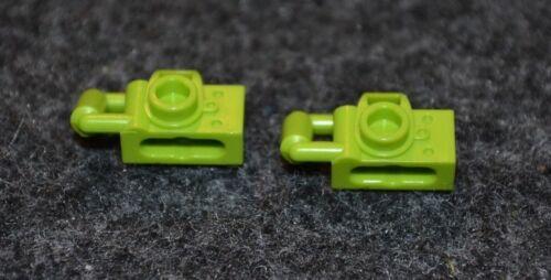 2 Lime Green Minifigure Camera Bricks  ~ Lego  ~ NEW