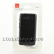 Verizon High Gloss Rubber Soft Case Cover Skin for Motorola DROID MINI Black NEW