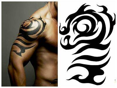 Einmal-Tattoo Temporary Tattoo  wasserdicht 140*195mm  Neu