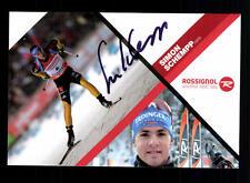 Simon Schempp Autogrammkarte Original Signiert Biathlon + A 134155