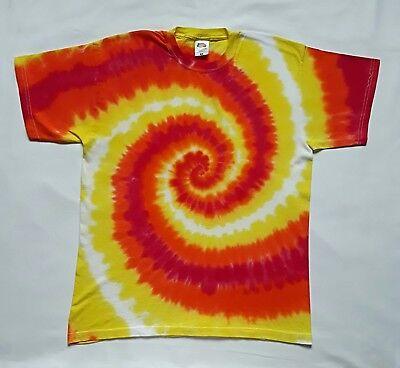 4XL Unisex Tie Dye T shirt Festival  Adults Kids Hippy Psychedelic Bright  S