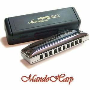 Hohner-Harmonica-580-20-Meisterklasse-MS-SELECT-KEY-NEW