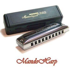 Hohner-Harmonica-580-20-Meisterklasse-MS-SELECT-KEY-NEW