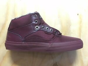 d6a7e7402d5 Vans Bedford (Tiger Clash) Wine Wine Classic Skate Shoes MEN S 6.5 ...