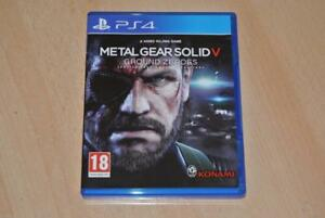 Metal-Gear-Solid-V-Ground-Zeroes-PS4-Playstation-4-FREE-UK-POSTAGE