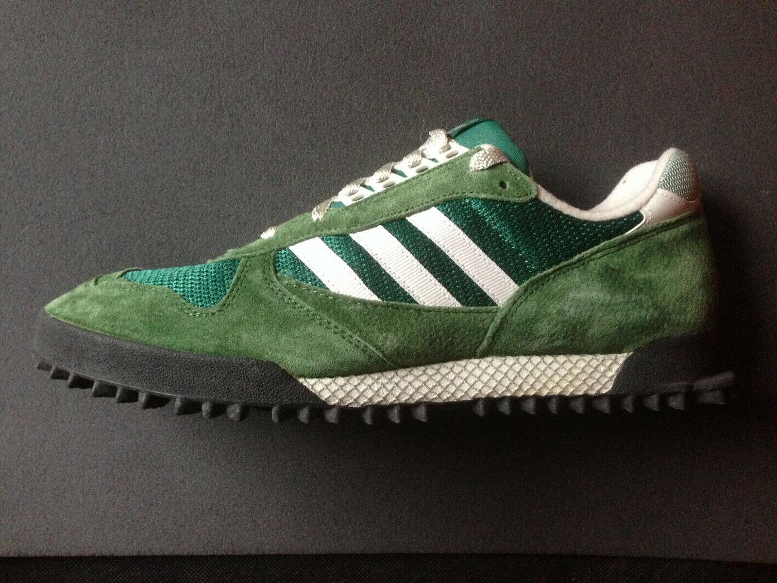 Adidas Marathon TR 2 Laubgrün vintage Marathon Training US 12,5 UK 12 EUR 47 1 3