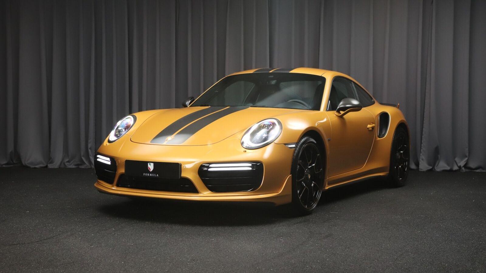Porsche 911 Turbo S 3,8 Coupé Exclusive PDK 2d
