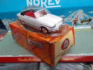 NOREV-1-43-PANHARD-17-CABRIOLET-1961-NEUF-EN-BOITE