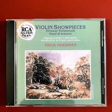 Erick Friedman Violin Showpieces CD 1992 BMG Music HK Audiophile <SUPER> 發燒上榜小提琴