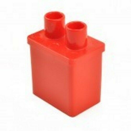 Maison de poupées en plastique rouge cheminée échelle 1/16 Avec Découpe Modèle