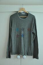 Yohji Yamamoto Pour Homme YYPH Long Sleeve T-Shirt Star Rare Cotton