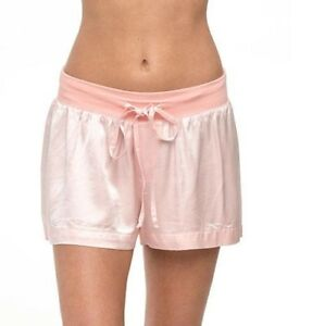 Image is loading PJ-HARLOW-WOMEN-S-MIKEL-SATIN-BOXER-SHORTS- b18d3cac2d