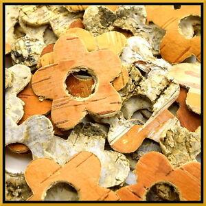 35x birch tree bark fleurs rustique mariage venue formes décoratives artisanales-afficher le titre d`origine RI1bv7m6-07214539-507609954