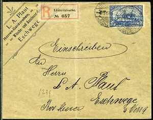DSWA-Mi-21-Reko-Brief-Luederitzbucht-Eschwege-1907