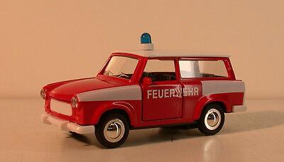 Spielzeug Schlussverkauf Trabant Spielzeugauto Aus Spritzguss Zum Aufziehen Rot Feuerwehr-auto Taille Und Sehnen StäRken