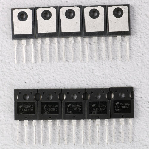 60A Field Stop Igbt To-3p RS 10Pcs//Lot Fgh60N60Smd Fgh60N60 600V