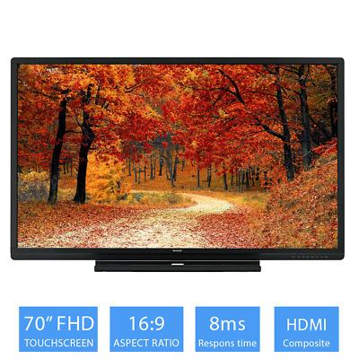 Sharp BIG PAD 70-inch Touchscreen Full HD LED Monitor16:9 Ratio, 8ms Response