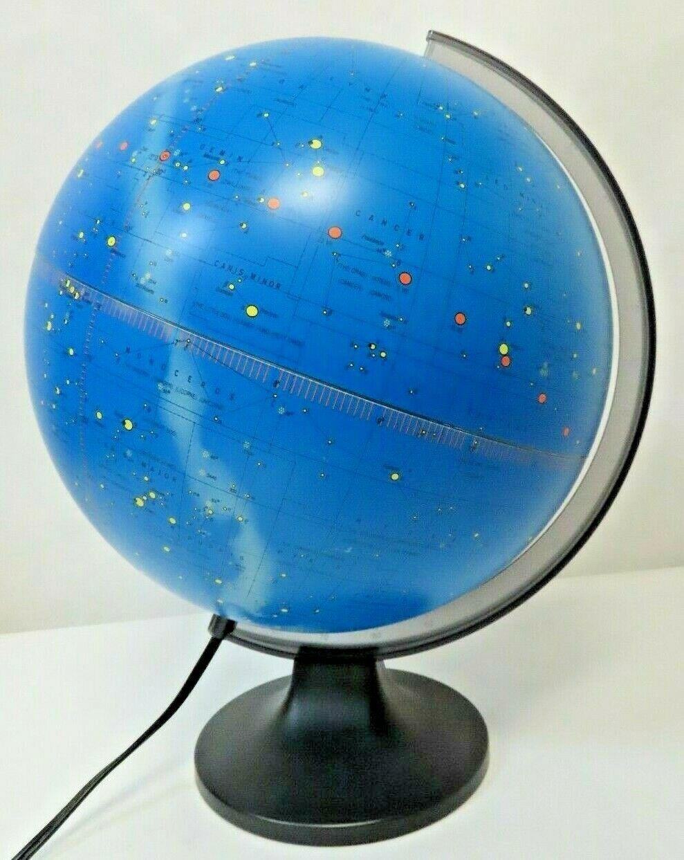 "Replogle 12/"" Day /& Night Illuminated Globe"