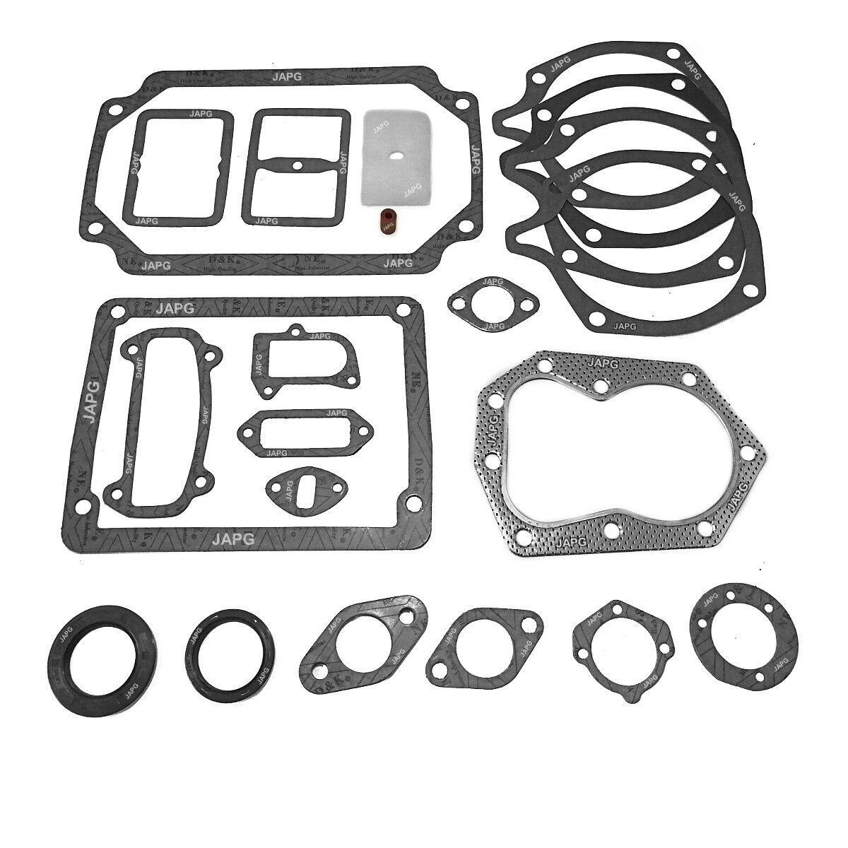 Motor Junta & Sello Conjunto, Kohler K241, K301, K321 HOWARD GEM, cabeza, escape 4-48