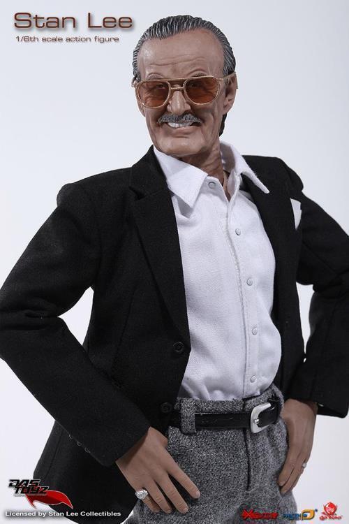 DAS Juguetez MARVEL Stan Lee 12  1 6 acción figura San Diego comic-con con camisa nueva no HOT TOYS