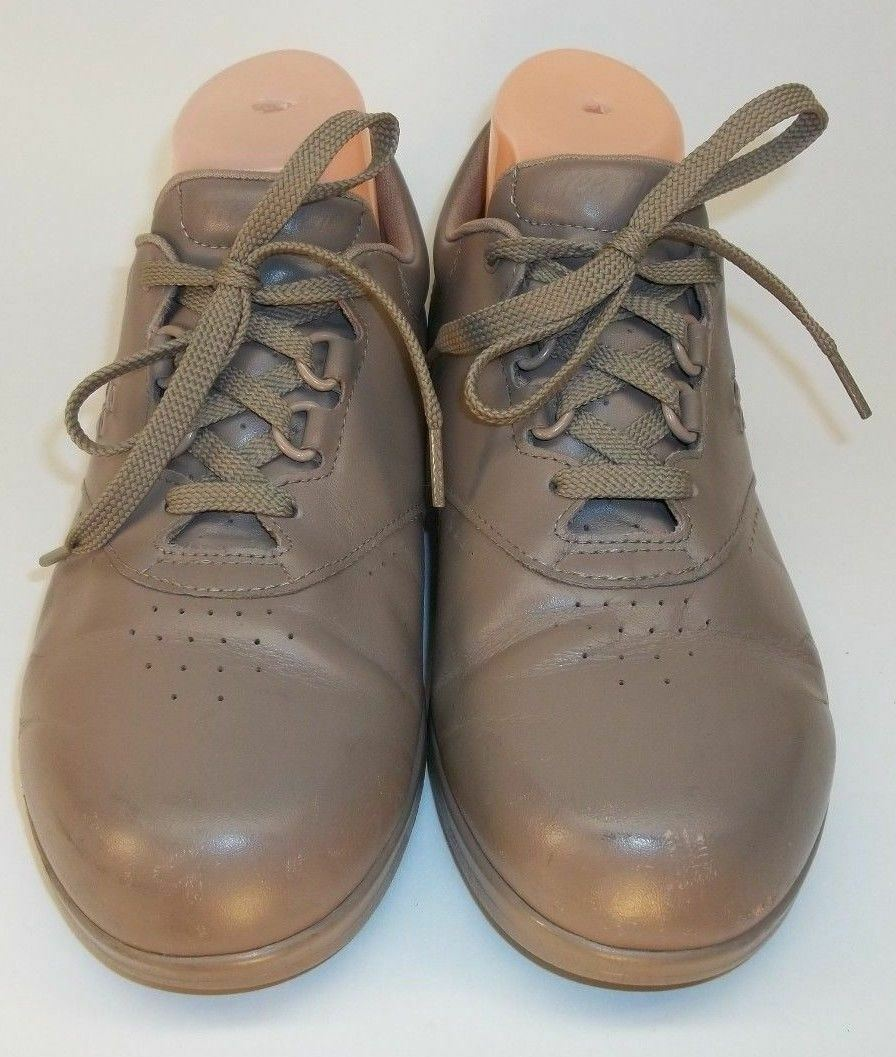 SAS Tripad MO686242 Wos Comfort Wos MO686242 US8W Beige Leather Oxfords Orthopedic Shoes 3583 552039