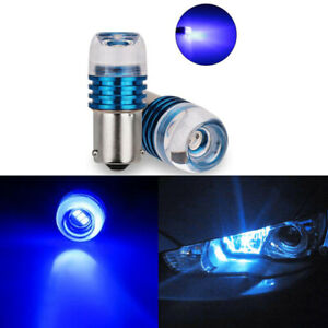 2XS25 1156 BA15S Strobe Flash LED P21W Turn Signal Lights Reverse Brake Bulb