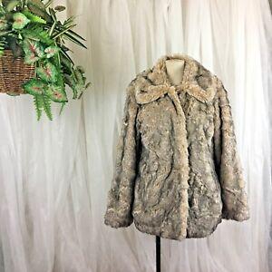 Swing 199 Faux Coat Kvinder Collared Avec Naturlig Fur Filles Størrelse Les 690681724656 Large qECaF0