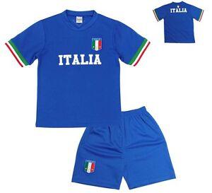 pretty nice db503 219ff Details zu KINDER FUSSBALL TRIKOT SET *HOSE & SHIRT* ITALIEN ITALIA