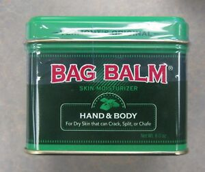 Details About Bag Balm Ointment 8oz Tin Fresh Pharmacy Stock