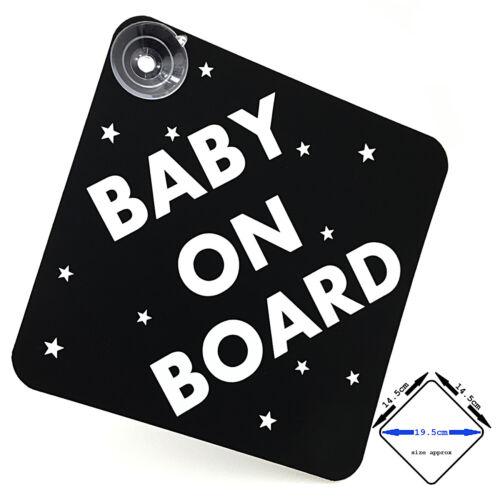 Bebé A Bordo Coche Firmar Con Ventosas