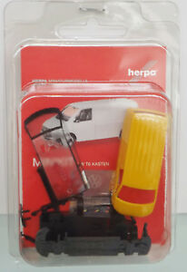 Herpa-013277-Minikit-1-87-VW-T6-Scatola-Giallo-Nuovo-in-Scatola-Originale
